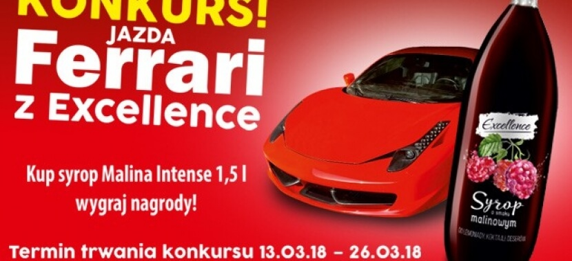 Competition! Driving a Ferrari with Excellence