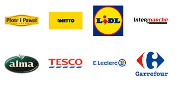 Cooperation with the largest retail chains