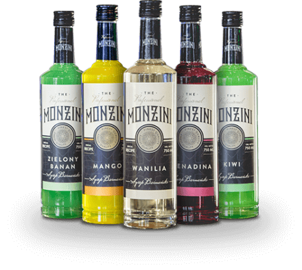 Professional Monzini Syrups