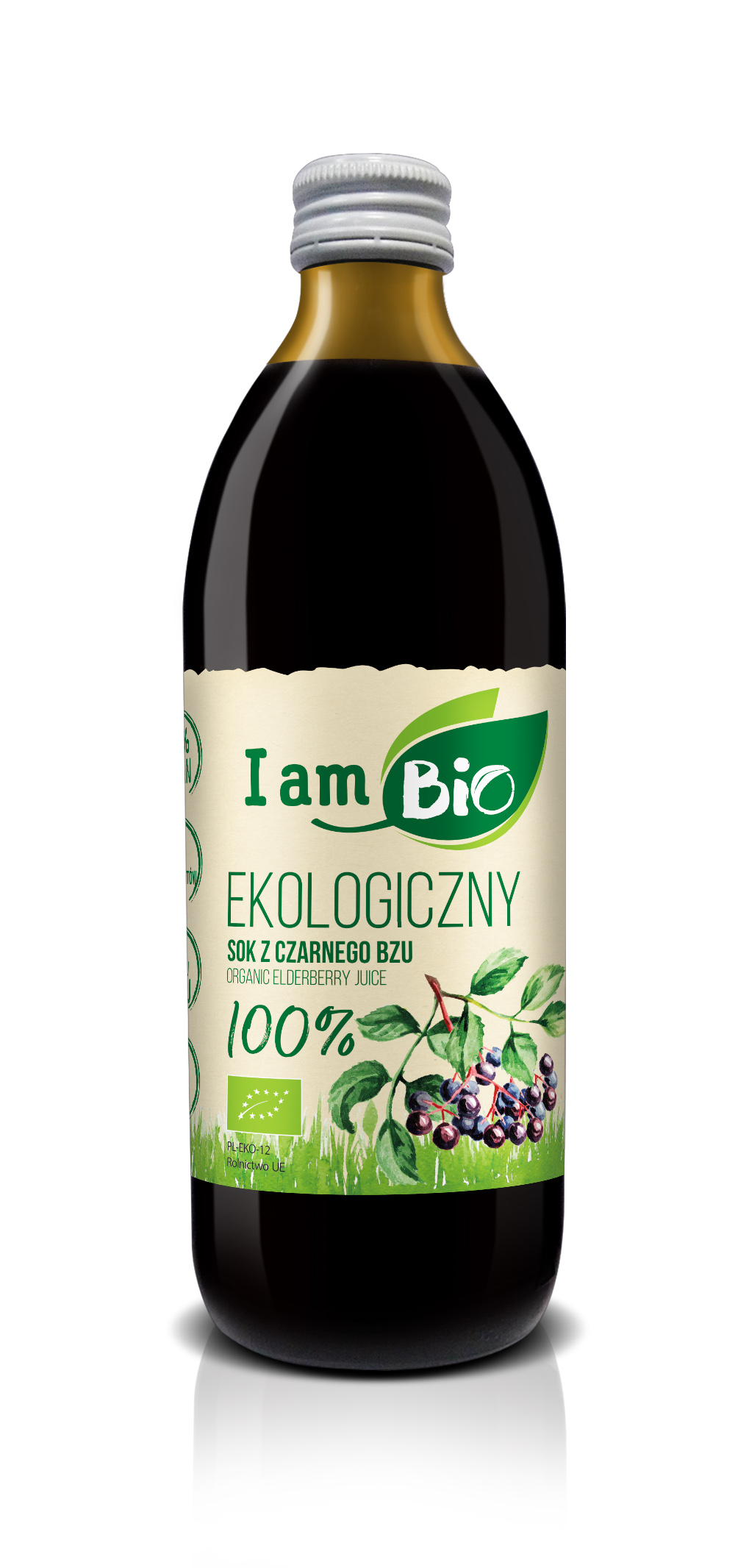 I AM BIO elderberry juice