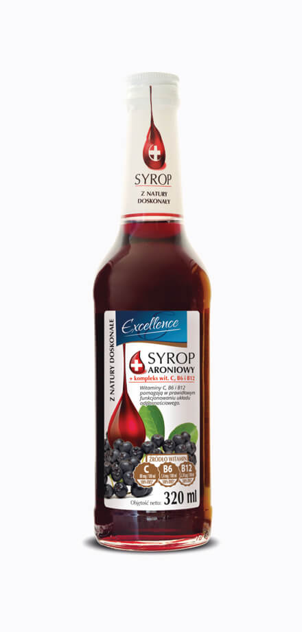 Pro-health chokeberry syrup