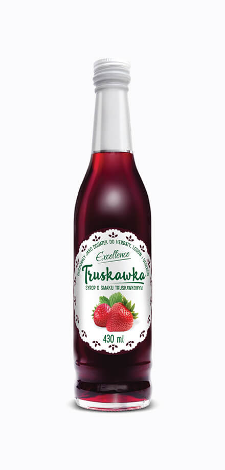 Serwetka strawberry syrup