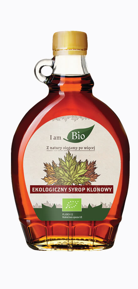 I AM BIO maple syrup